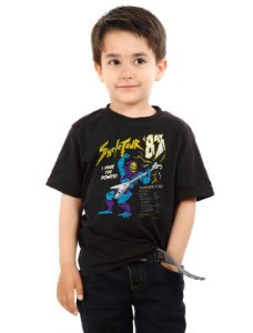 Camiseta Infantil Skeletour '83 - Nerd e Geek - Presentes Criativos