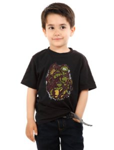 Camiseta Infantil The Green Team Nerd e Geek - Presentes Criativos