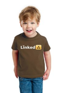 Camiseta Infantil Linked Nerd e Geek - Presentes Criativos