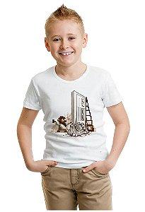 Camiseta Infantil Reenaissance - Nerd e Geek - Presentes Criativos