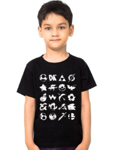 Camiseta Infantil Grunge Nerd e Geek - Presentes Criativos