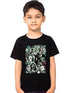 Camiseta Infantil Reunion - Nerd e Geek - Presentes Criativos
