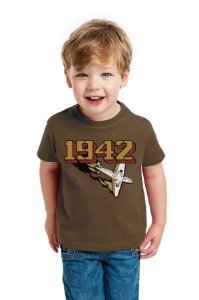 Camiseta Infantil 1942 Retro Nerd e Geek - Presentes Criativos
