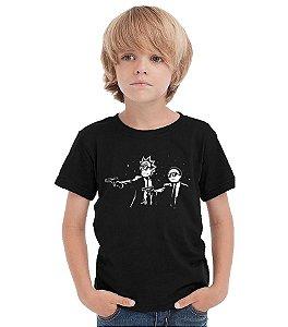 Camiseta Infantil Ricky Fiction Nerd e Geek - Presentes Criativos