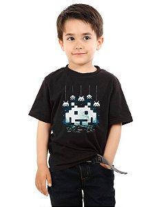 Camiseta Infantil Space Atari - Nerd e Geek - Presentes Criativos