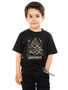 Camiseta Infantil Infinitioon War Nerd e Geek - Presentes Criativos