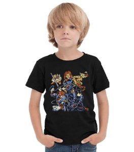 Camiseta Infantil Cats Nerd e Geek - Presentes Criativos