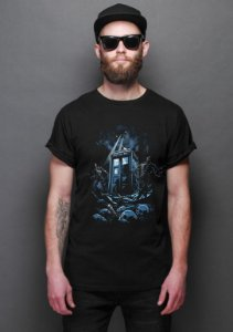 Camiseta Masculina  Doctor Who - Nerd e Geek - Presentes Criativos