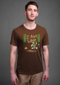 Camiseta Masculina  Link Simpons - Nerd e Geek - Presentes Criativos