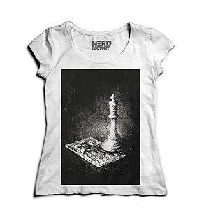 Camiseta Feminina King - Nerd e Geek - Presentes Criativos