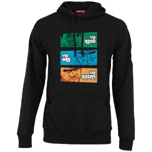 Moletom com Capuz  the Hood, the Dad & the Angry - Nerd e Geek - Presentes Criativos