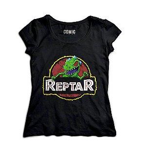 Camiseta Feminina Reptar - Nerd e Geek - Presentes Criativos