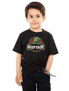 Camiseta Infantil Reptar Nerd e Geek - Presentes Criativos