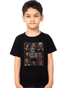 Camiseta Infantil The Bel-Air Bunch - Nerd e Geek - Presentes Criativos