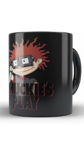 Caneca Chuckie Play - Nerd e Geek - Presentes Criativos