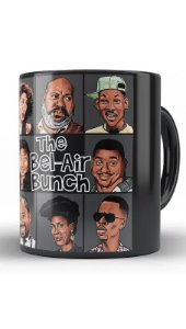 Caneca The Bel-Air Bunch  - Nerd e Geek - Presentes Criativos