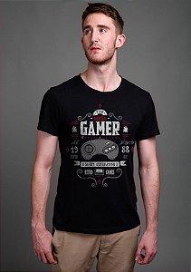 Camiseta Masculina Gamer 16bit Mega - Nerd e Geek - Presentes Criativos