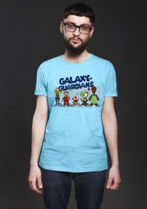 Camiseta Masculina Galaxy of Guardians- Nerd e Geek - Presentes Criativos
