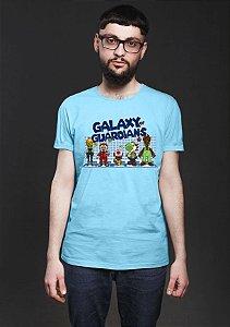 Camiseta Masculina Galaxy of Guardians- Nerd e Geek - Presentes Criativos