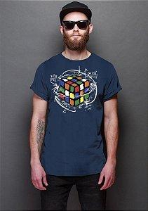 Camiseta Masculina Cubo Magico.- Nerd e Geek - Presentes Criativos