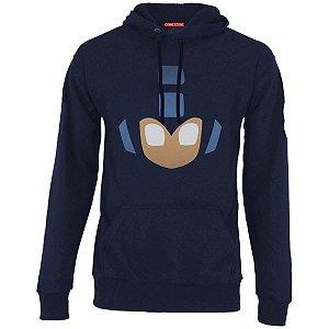 Blusa com Capuz Mega Man - Nerd e Geek - Presentes Criativos