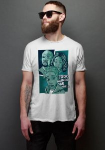 Camiseta Masculina Todo Mundo Odeia o Chris - Nerd e Geek - Presentes Criativos