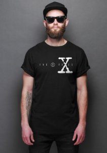 Camiseta Masculina Series Arquivo X - Nerd e Geek - Presentes Criativos