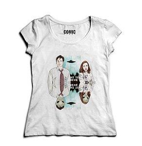 Camiseta Feminina Series Arquivo X.... -- Presentes Criativos