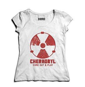 Camiseta Feminina Series Chernobyl -- Presentes Criativos
