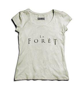 Camiseta Feminina Séries La Forest (O Bosque) -- Presentes Criativos