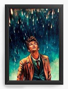 Quadro Decorativo A3 (45X33) Doctor Who - Nerd e Geek - Presentes Criativos