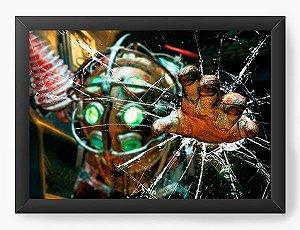 Quadro Decorativo A3 (45X33) Games - BioShock - Nerd e Geek - Presentes Criativos