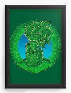 Quadro Decorativo A3 (45X33) Gardening - Nerd e Geek - Presentes Criativos
