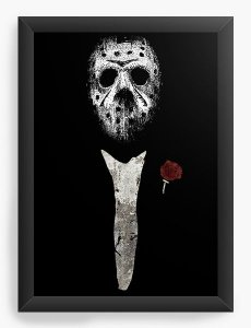 Quadro Decorativo A3 (45X33) Jason The Godfather  - Nerd e Geek - Presentes Criativos