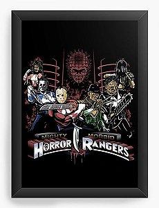 Quadro Decorativo A3 (45X33) Rangers  - Nerd e Geek - Presentes Criativos