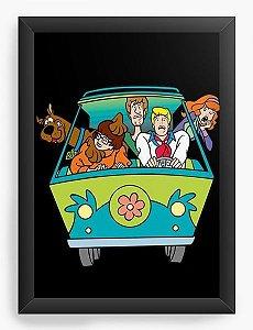 Quadro Decorativo A3 (45X33) Scooby Doo - Nerd e Geek - Presentes Criativos