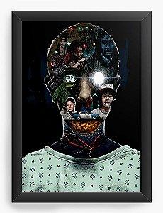Quadro Decorativo A3 (45X33) Stranger Things - Eleven - Nerd e Geek - Presentes Criativos