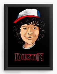 Quadro Decorativo A3 (45X33) Stranger Things - Nerd e Geek - Presentes Criativos
