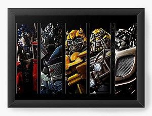 Quadro Decorativo A3 (45X33) Transformers - Nerd e Geek - Presentes Criativos