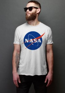 Camiseta Masculina Nasa - Presentes Criativos