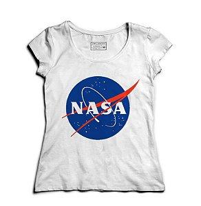 Camiseta Feminina Nasa  - Presentes Criativos
