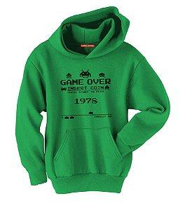 Blusa com Capuz Gamer Nerd e Geek - Presentes Criativos