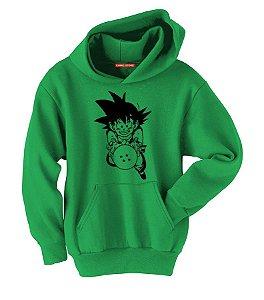Blusa com Capuz Dragon Ball Goku  Nerd e Geek - Presentes Criativos