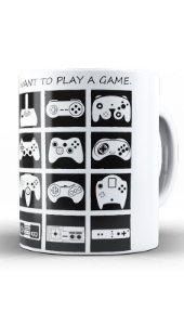 Caneca Play Game  - Nerd e Geek - Presentes Criativos