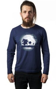 Camiseta Masculina Manga Longa Monstros SA - Nerd e Geek - Presentes Criativos
