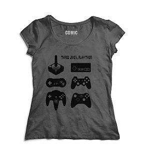 Camiseta  Feminina Controles