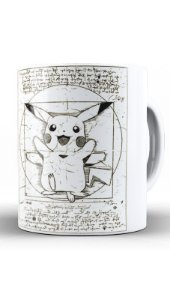 Caneca Pokemon Pikachu Nerd e Geek - Presentes Criativos