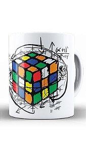 Caneca Cubo Mágico - Nerd e Geek - Presentes Criativos