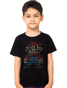 Camiseta Infantil Super Mario Bros - Nerd e Geek - Presentes Criativos