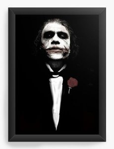 Quadro Decorativo A4 (33X24) The Godfather - Nerd e Geek - Presentes Criativos
